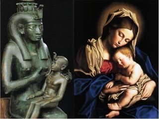 Virgin Mary, Isis
