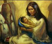 Lakota Woman, Native American  incarnations, Jessica Jewett's past lives