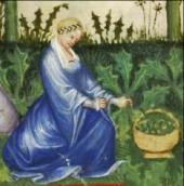 Italian farm girl