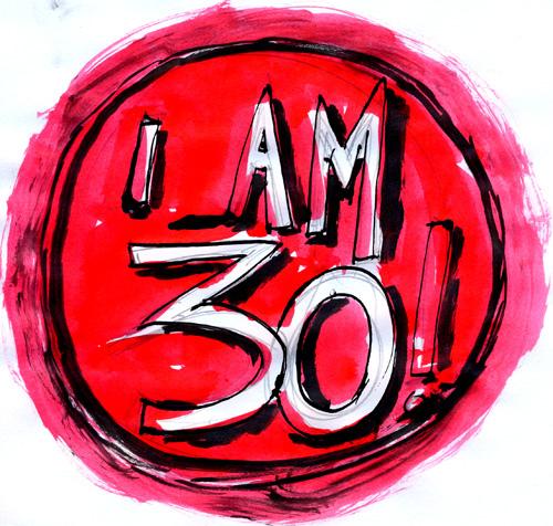 Kiss me, I'm 30!   Jessica Jewett on
