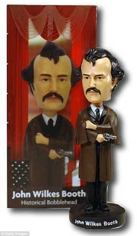 John Wilkes Booth bobbleheads removed from Gettysburg shop