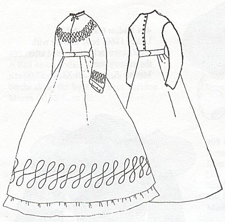 1850s Dress Pattern