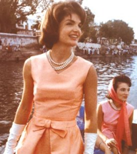 Jackie Kennedy in Paris
