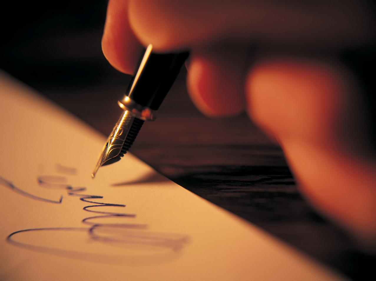 Are writers a type of medium?
