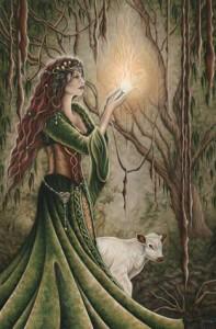 Goddess Brigid - Jessica Jewett Online